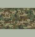 classic camouflage seamless pattern vector image vector image