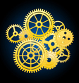clockwork mechanism vector image vector image