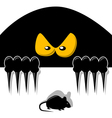 Ambush-The attacker and the victim vector image