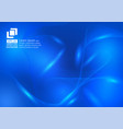 abstract background with a blue color particles vector image