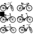 Bicycle Pictogram Set 3 vector image vector image