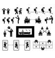 school reopen sop standard operating procedures vector image