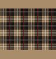 seamless tartan plaid vector image vector image