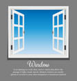 window architecture vector image vector image
