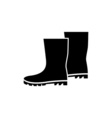Boots Icon Flat vector image
