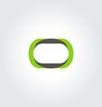 circle logo vector image