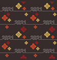 chinese abstract seamless pattern vector image vector image