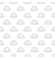 Label pattern seamless vector image vector image