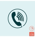 Phone call icon isolated vector image vector image