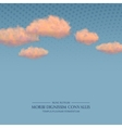 Retro Sky Background vector image vector image
