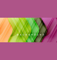 shiny glossy arrows background vector image vector image