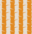 Textured ornament with orange and white vertical vector image