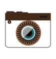 photo camera icon design graphic vector image