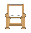 armchair icon design vector image
