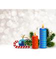 Decorative Christmas Background vector image