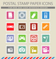 devices simply icons vector image vector image