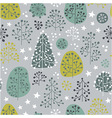 First Frost - seamless pattern vector image vector image
