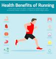 healthy fitnesslifestyleinfographics vector image