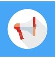 Icon of megaphone Speak concept vector image vector image