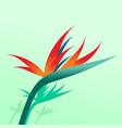 lotus flower paradise background graphic design vector image