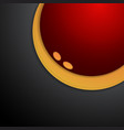 red and yellow curve background overlap