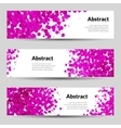 Set of Horizontal Poster Banners Templates vector image vector image
