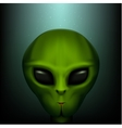 The alien portrait vector image