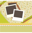 Wallpaper card vector image vector image
