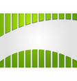 Colourful abstract green backdrop vector image