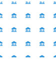 cargo barn icon pattern seamless white background vector image vector image