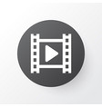 cinema icon symbol premium quality isolated movie vector image