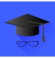 Hat and Glasses vector image