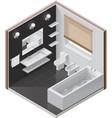 Isometric bathroom icon vector | Price: 3 Credits (USD $3)