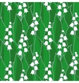 lily of the valley seamless vector image