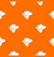 retriever dog pattern seamless vector image vector image