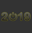 2019 background eps 10 vector image vector image