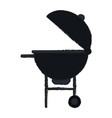 bbq grill icon image vector image vector image