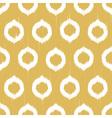 ikat circles ethnic seamless pattern vector image vector image