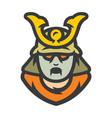 japan dead samurai zombie warrior cartoon vector image vector image