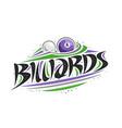 logo for billiards vector image