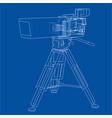 movie-cinema camera concept vector image vector image