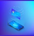 banking online service money transfer or internet vector image vector image