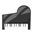 classic piano instrument vector image