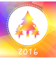 NY2016 Color Trees vector image vector image