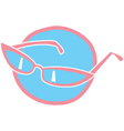 Retro glasses vector image vector image