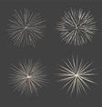 retro starbursts 1401 vector image vector image