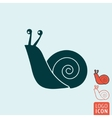 Snail icon isolated vector image vector image
