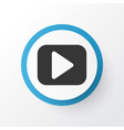 begin icon symbol premium quality isolated play