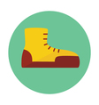 Boot outline icon vector image vector image