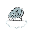 Sheep sketch for your design vector image vector image